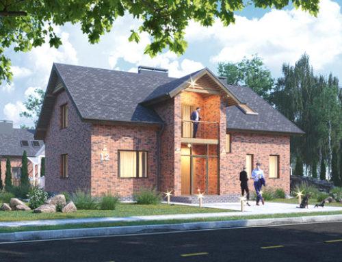 """К52-2Э-227 """"Проект мансардного пятикомнатного жилого дома"""""""