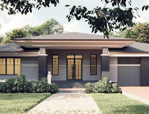 """К53-1Э-280 """"Проект четырёхкомнатного жилого дома с гаражом на 2 машины"""""""